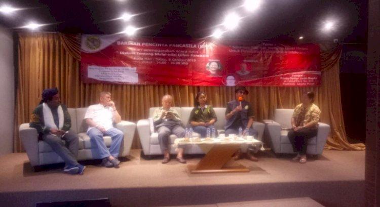 Barisan Pencinta Pancasila Selenggarakan Diskusi Pancasila, Intoleransi dan Radikalisme
