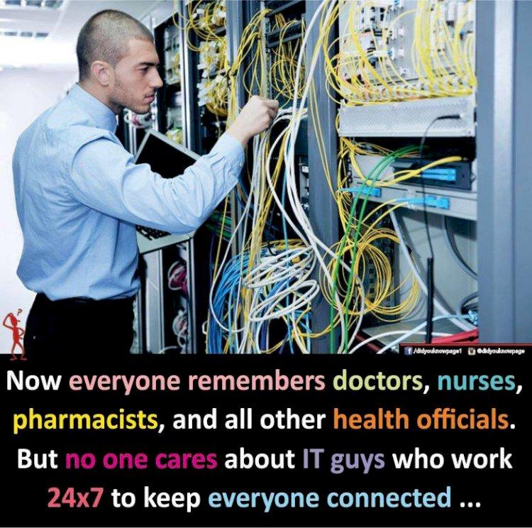 Mereka Yang Menjamin Kita Semua Tetap Terhubung