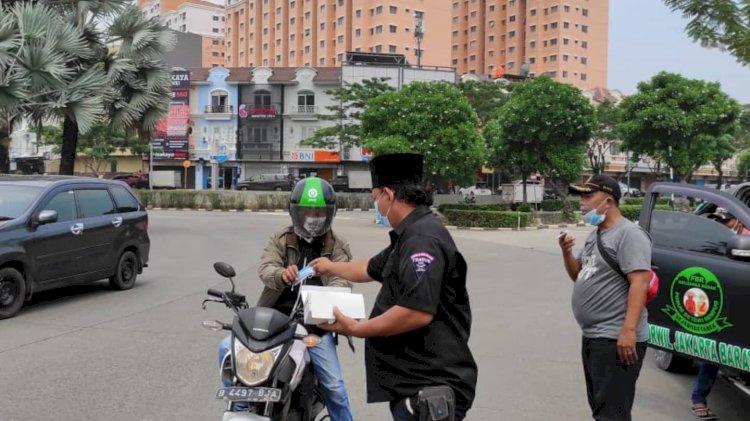 Barisan Pencinta Pancasila (SANTALA)  Kembali Bagi-bagi Masker