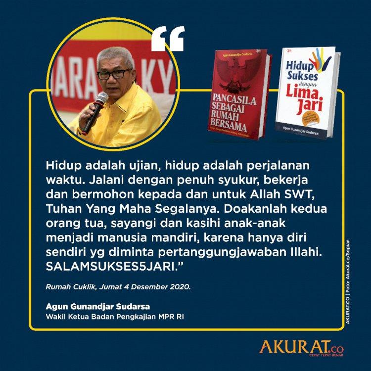 Kang Agun Adalah Wakil Rakyat Bapak Rakyat Guru Rakyat dan Sahabat Rakyat