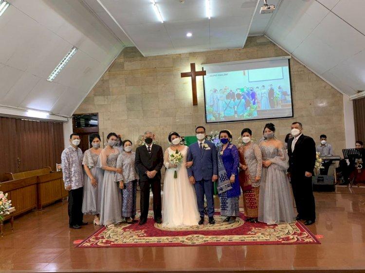 Pemberkatan Pernikahan Christine Hutapea  Iwan Sipayung